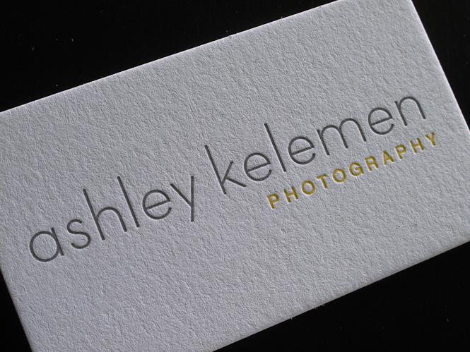 Duplex letterpress business cards Archives - Custom Letterpress - letterpress business card