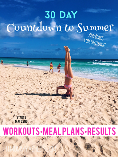 beach, bootcamp, fitness, countdown, workout, meal plan, nutrition, support, 30 day, transformation, results