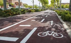 Nuevo carril bici en Boadilla del Monte
