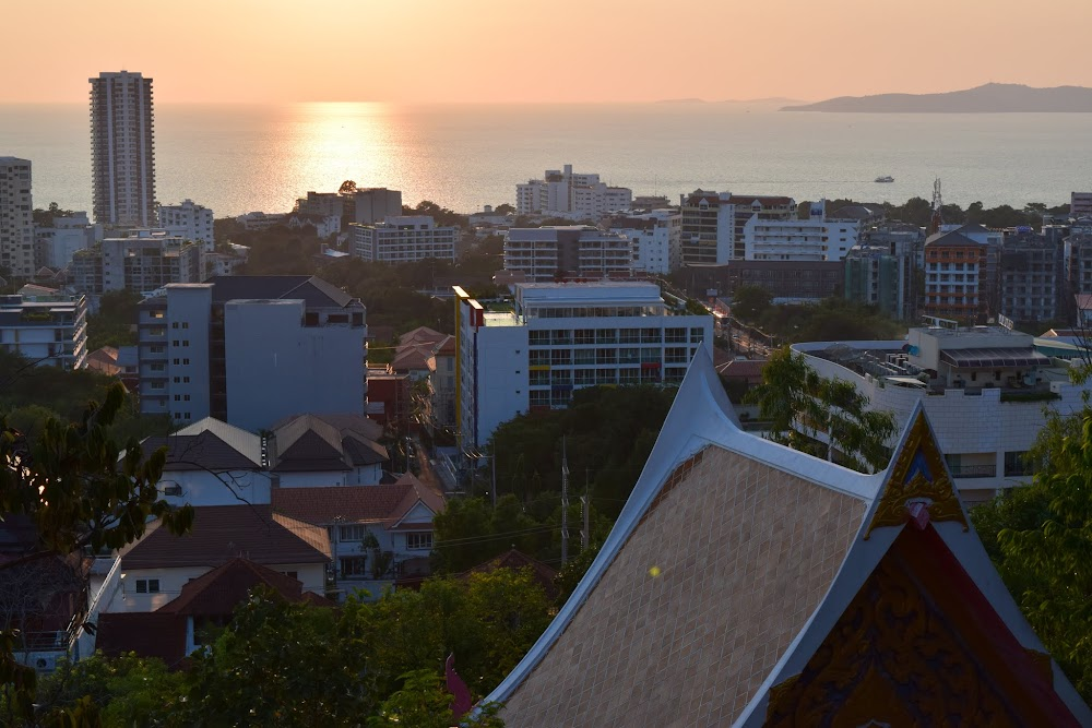nice views of Pattaya and sea from up here