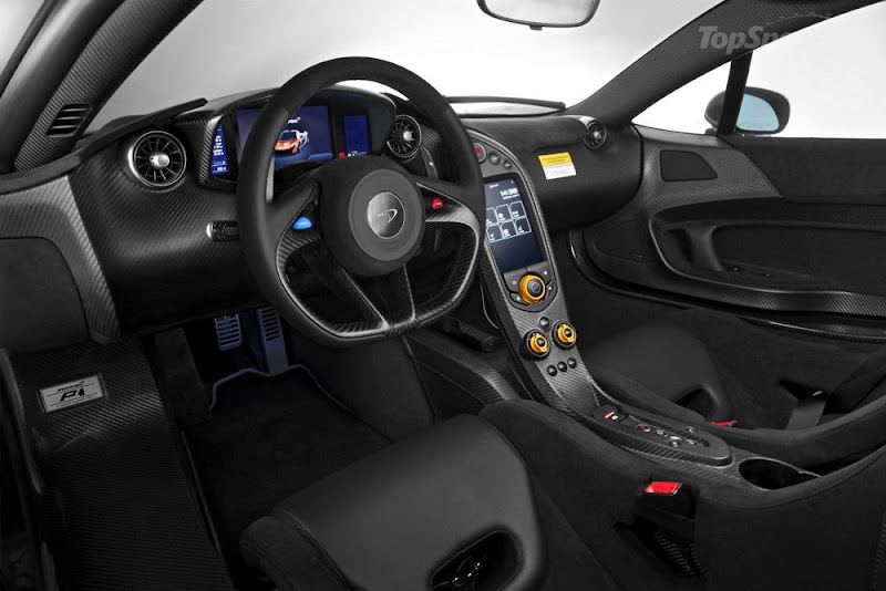 McLaren P1 Interior Looks