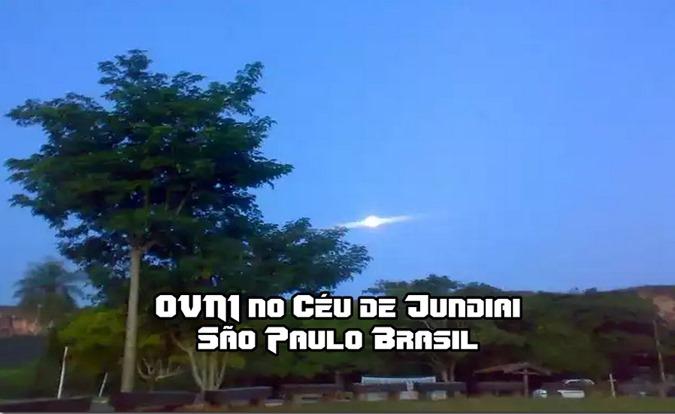 OVNI no Céu de Jundiai São Paulo Brasil