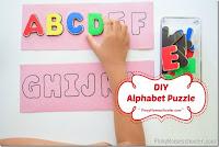 DIY Letter Puzzle