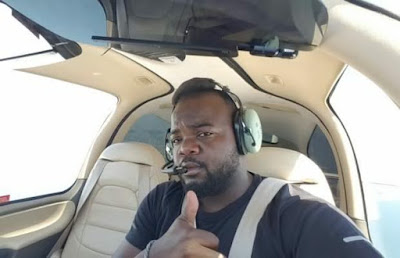 Nigerian pilot becomes first African to fly around the world alone