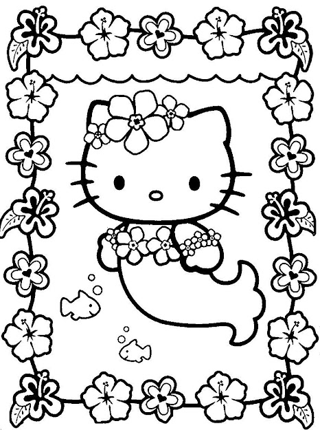 Coloring Sheets Hello Kitty Easy To Color Hello Kitty Coloring Pages  Printable And Colors How To Color Free Printable Hello Kitty Coloring Pages  For Kids