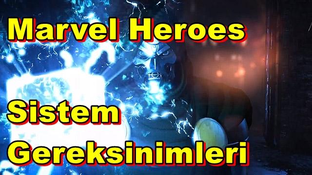 Marvel Heroes PC Sistem Gereksinimleri
