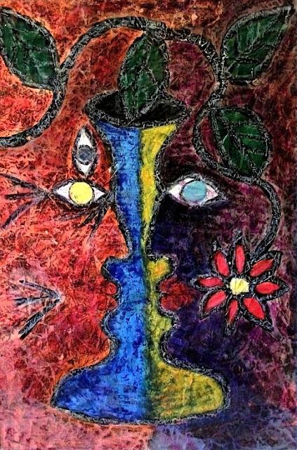 Third Eye. Painted by S. R. Schwarz in oil