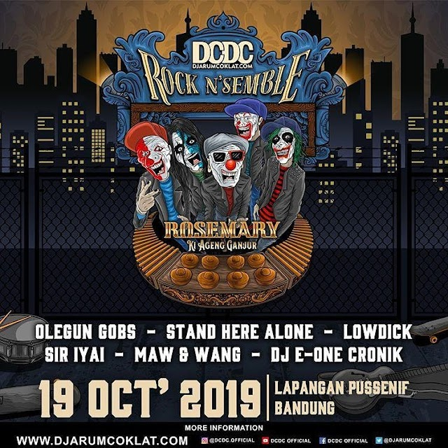 DCDC Rock N Semble : Kolaborasi Musik Skate Punk Dengan Tradisional