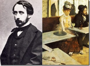 Edgar Degas & The Absinthe Drinker, 1876