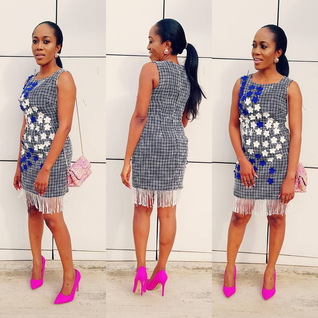 Fringe Short Gown Style Download Latest Ankara Styles