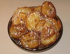 Pâte pour beignets aux fruits