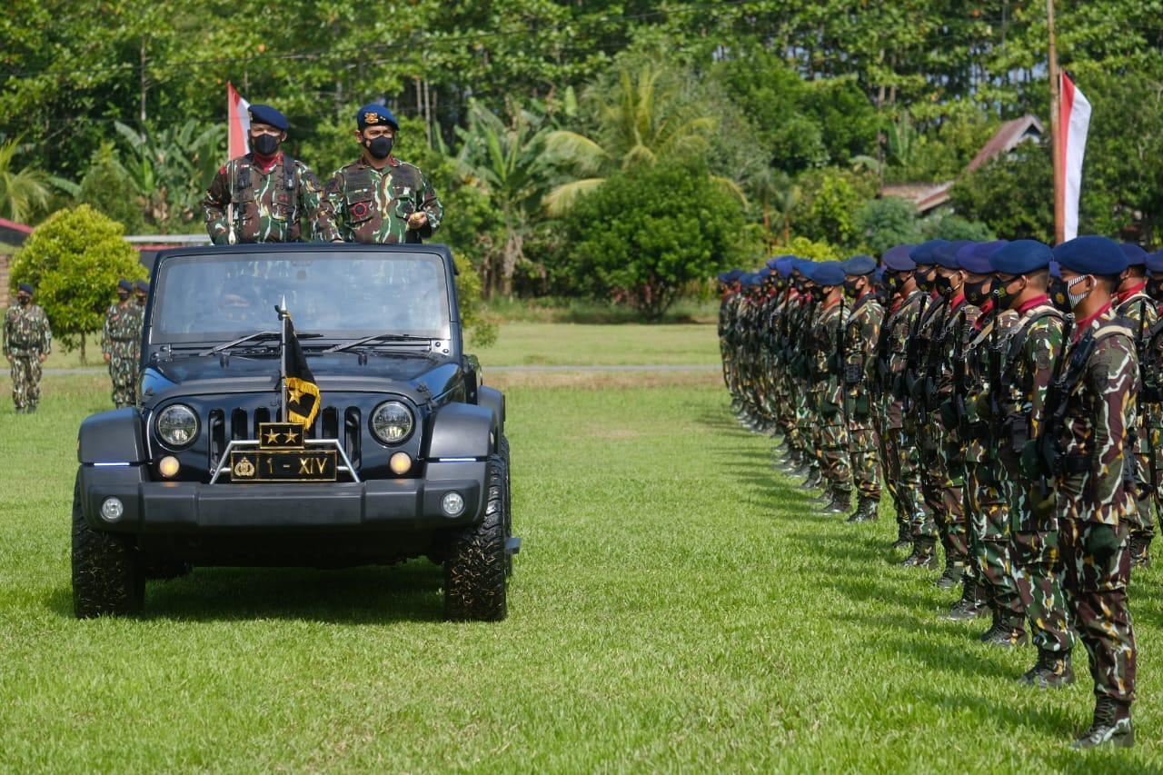 Kapolda Sulsel Mengukuhkan Pembentukan Brimob Batalyon D, Bermarkas di Luwu