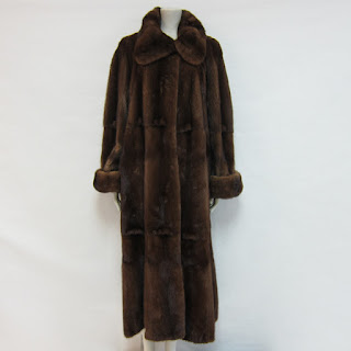 **SALE** Mink Reversible Coat