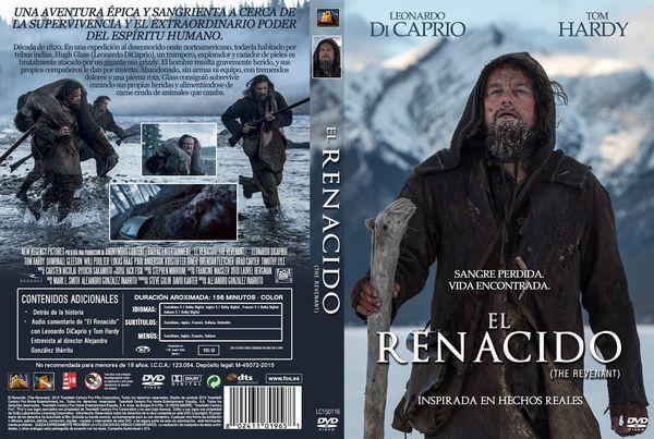 El Renacido – Castellano, Inglés – DVD9