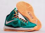"""Nike LeBron X - """"Setting"""" / """"Miami Dolphins"""""""