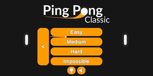 Classic Ping Pong HD screenshots 2
