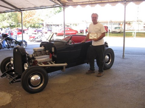 Here I am at Joe Bailon's car show in Auburn CA..
