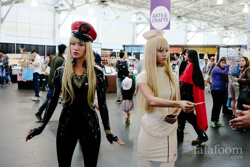 Left to right: RiRi (MS-00000) and LuLa (SW-000000) of FEMM