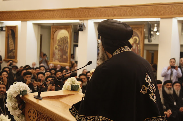 His Holiness Pope Tawadros II visit to St. Mark LA - _MG_0587.JPG