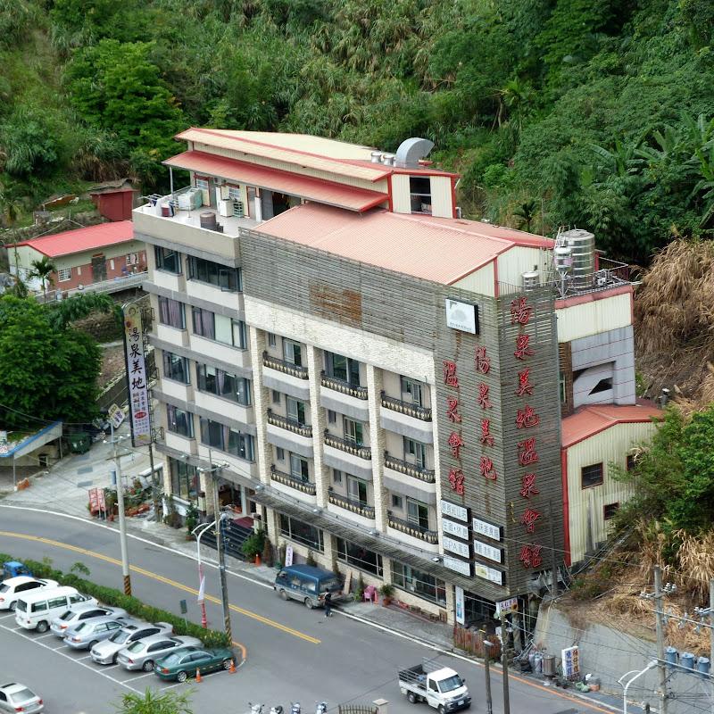 Guanziling, un village d'hôtels,rien d autre