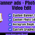 Custom Banner Ads - Graphic Design