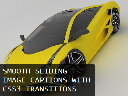 Smooth Sliding Image Caption With CSS3