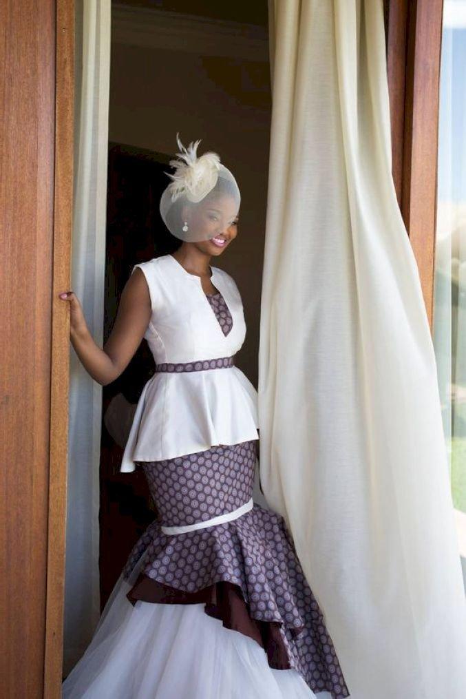 20 Shweshwe Wedding Dresses South Africa Fashion 2d