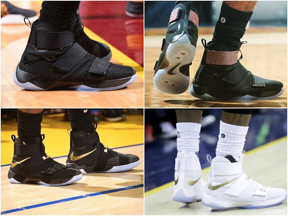 Breaking Down Every Shoe Worn by The King in 2016 NBA Finals  5b456bd250