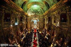 Foto 2647. Marcadores: 11/06/2010, Casamento Camille e Paulo, Igreja, Igreja Nossa Senhora Monte do Carmo, Rio de Janeiro