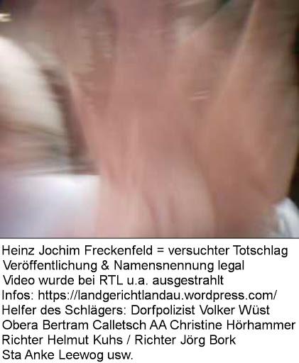 Heinz Jochim, Heinz Jochim Freckenfeld, Elfriede Jochim, Elfriede Jochim Freckenfeld, Michaela Jochim, Michaela Jochim Freckenfeld, Stefanie Jochim, Stefanie Jochim Wörth-Schaidt, Volker Wüst, Volker Wüst Kandel, Volker Wüst Wörth, Richterin Dagmar Sturm, Richterin Isabell Breuers-Mägly, Richterin Tanja Rippberger, Richter Mathias Frey, Richter Roland König, Richter Helmut Kuhs, Richter Jörg Bork, Sta Klaus Häusler, Obera Bertram Calletsch, AA Christine Hörhammer, Sta Susanne Wagner-Diederich, Staatsanwalt Peter Nöthen, Staatsanwalt Detlef Winter, Sta Hubert Ströber, Volker Wüst Wörth, Volker Wüst Kandel, Amtsgericht Landau in der Pfalz, Landgericht Landau in der Pfalz, Staatsanwaltschaft Landau in der Pfalz, Richter Christian Klewin