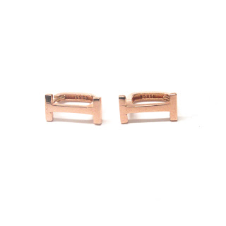 14K Gold 'Ɪ' Earrings
