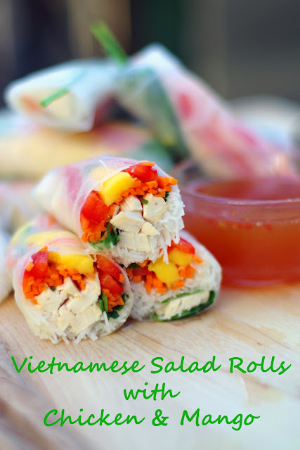 how to make salad roll sauce