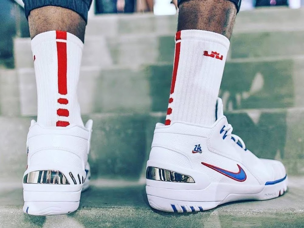 0aea88ddb2bd ICYMI LeBron James Wore 5 Different Shoes During the AllStar Weekend ...