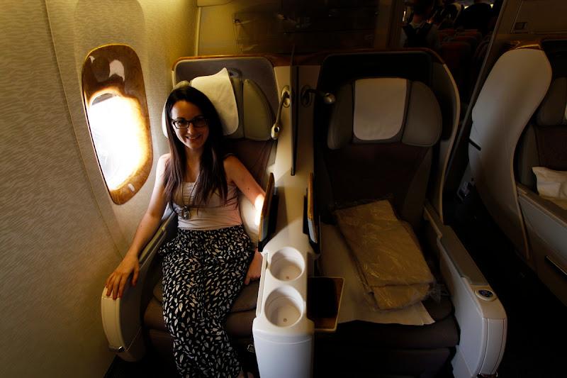 Volando en business desde Dubái hasta Yakarta con Emirates