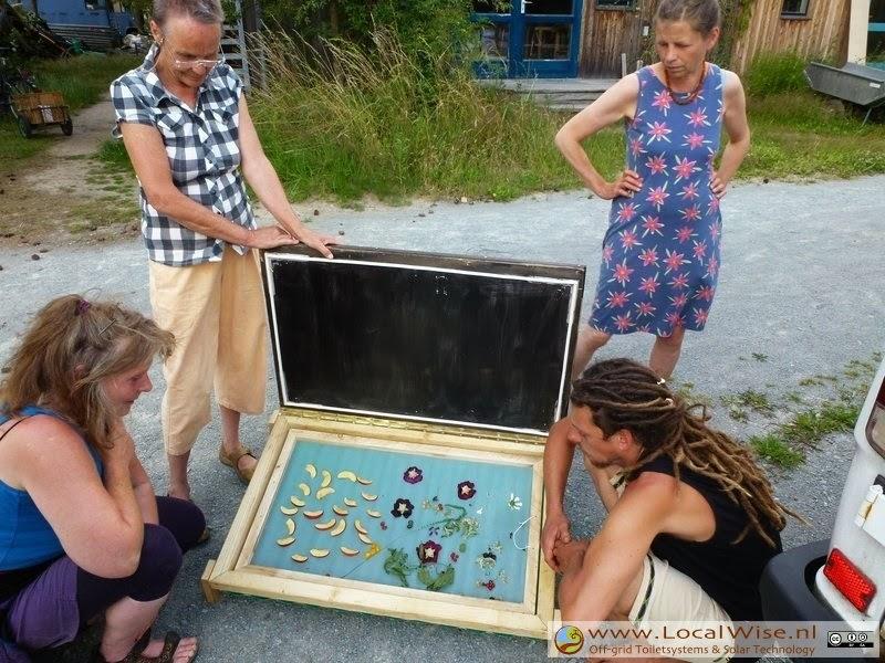 Zonnedroger workshop in Ecodorop Siebenlinden 2014