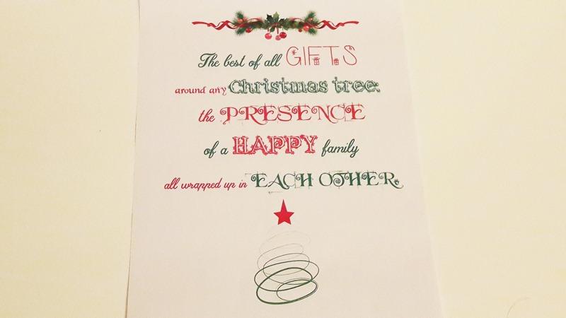 Quadretto natalizio