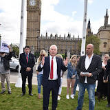 OIC - ENTSIMAGES.COM - Dr Paul Monaghan MP at the Puppy Farming Protest - demonstration and photocall 24th May 2016, rally and photocall in London's Parliament Square to raise awareness of the UK's cruel puppy farming trade, in association with PupAid, Boycott Dogs4Us and C.A.R.I.A.D.  Photo Mobis Photos/OIC 0203 174 1069