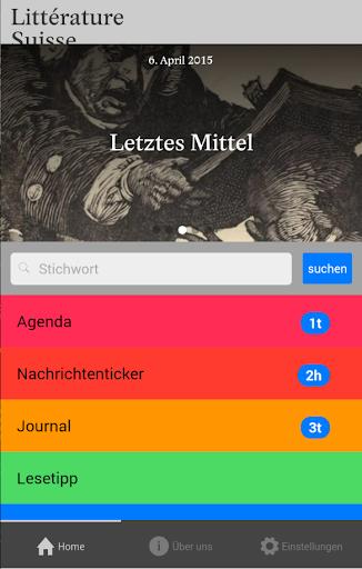 Literatur Schweiz