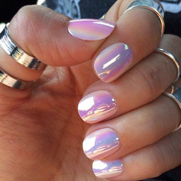 TOP 50+ AMAZING METALLIC NAIL ART IDEAS FOR 2018 – NAIL ART DESIGNS