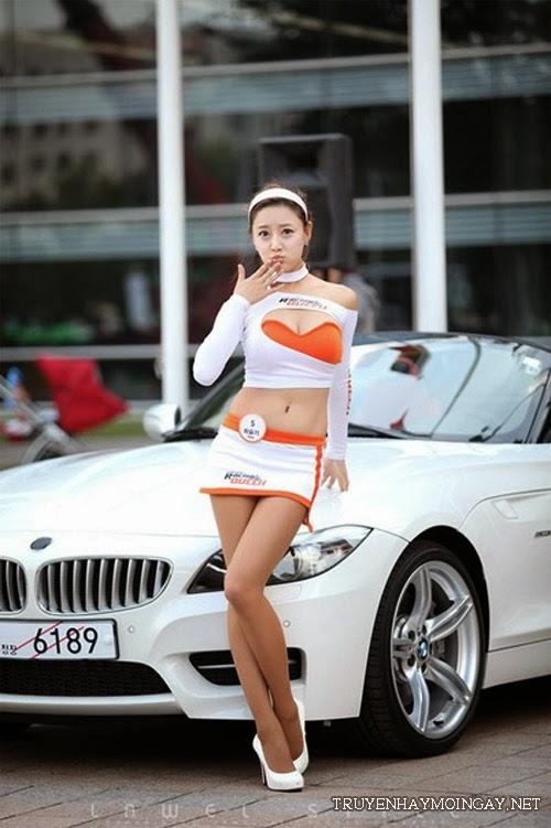 9 người mẫu ô tô nóng bỏng nhất xứ Hàn