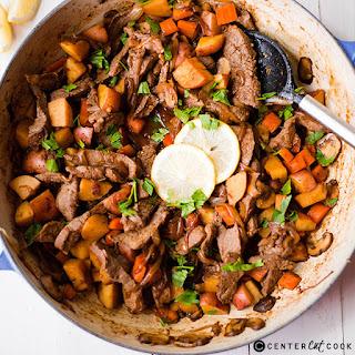 One Pan Steak and Potatoes