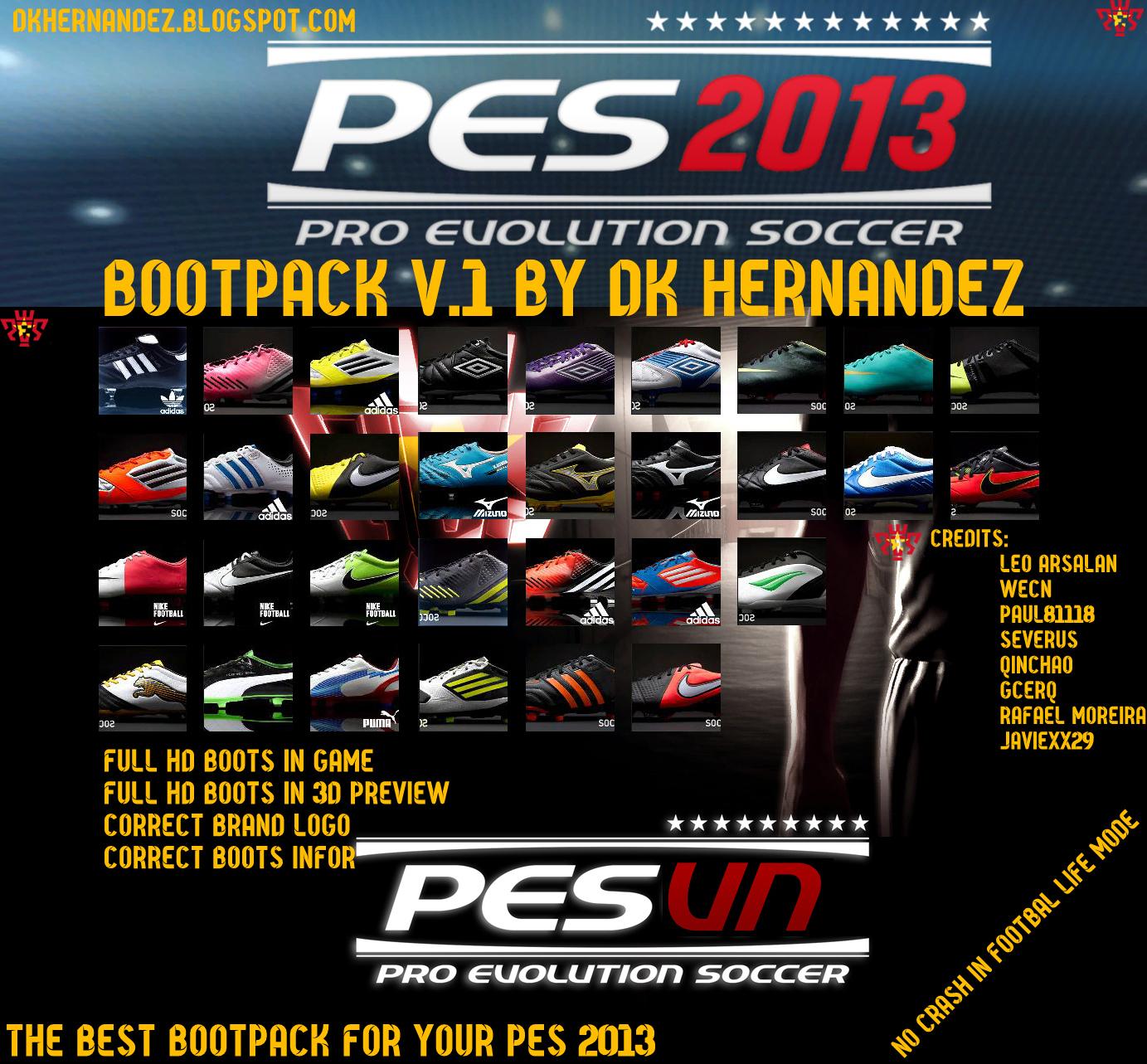 Bootpack V.1 - PES 2013