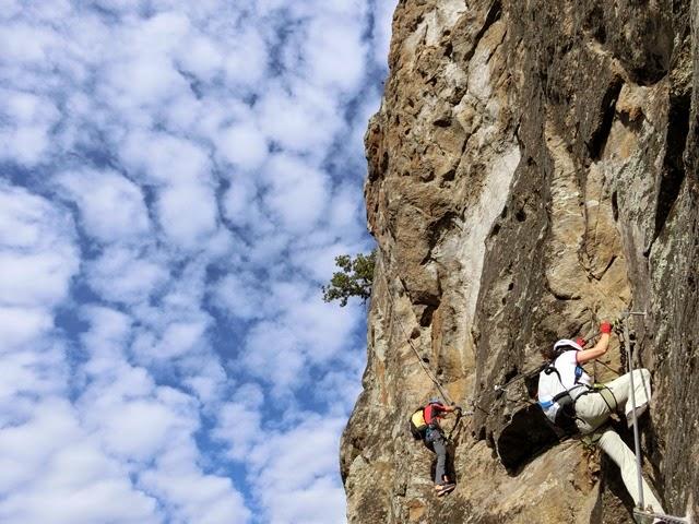 Klettersteig Vinschgau : Panik am ifinger ehepaar im klettersteig in not u südtirol news