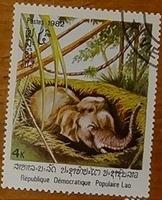 timbre Laos 005