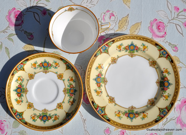 Mintons Reg. No.702577 Vintage Bone China Trio