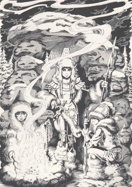 Witch Chieftess, Sorceress 3