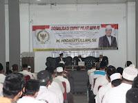 Hidayatullah : Sosialisasi 4 Pilar Kebangsaan Upaya Melestarikan Nilai-Nilai Keindonesiaan