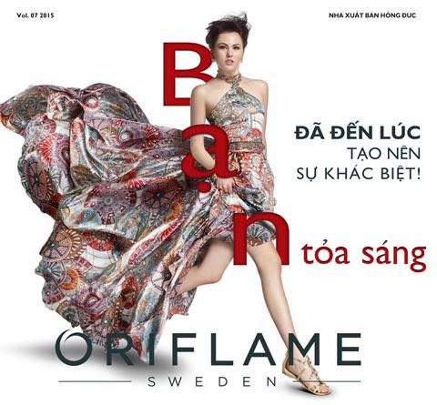 Catalog Oriflame tháng 7/2015