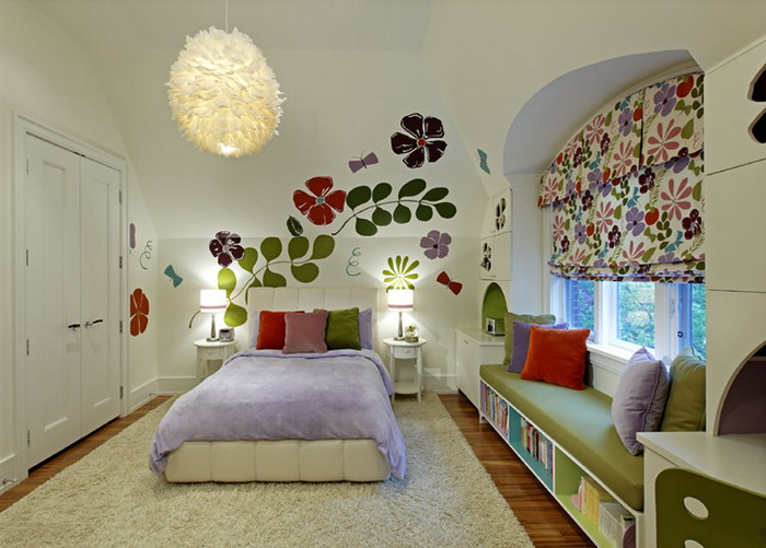 IDEAS DECORATION BEDROOM  FOR GIRL IN 2018 10