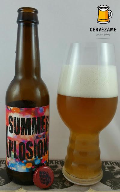 cerveza Brew Roll & Cocina Creativa Summer Xplosion beer Cervezame en los labios